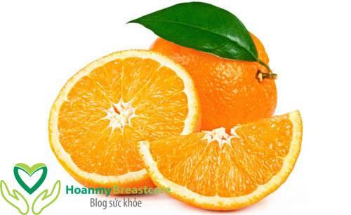 1 trái cam bao nhiêu calo